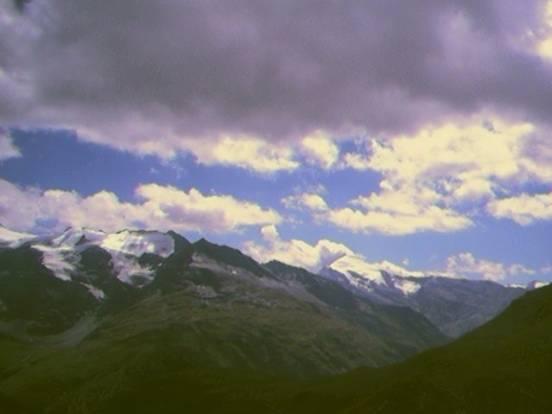 Vista desde el Iseran