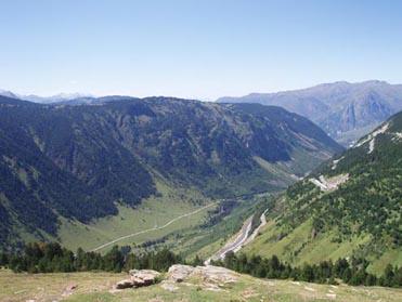 vista desde La Bonaigua