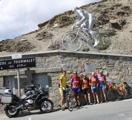 Grupo en Tourmalet