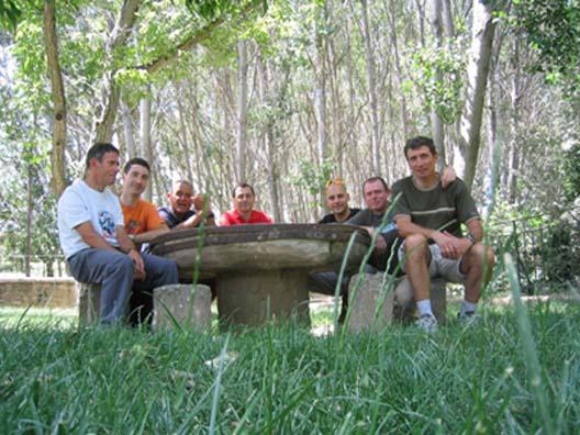 Grupo en Lumbier