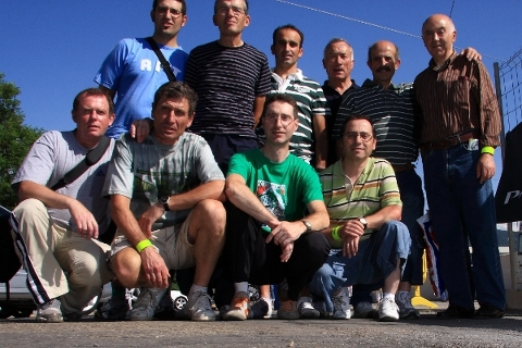 Grupo en la meta el viernes