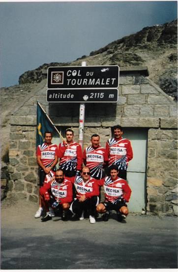Grupo en el Tourmalet